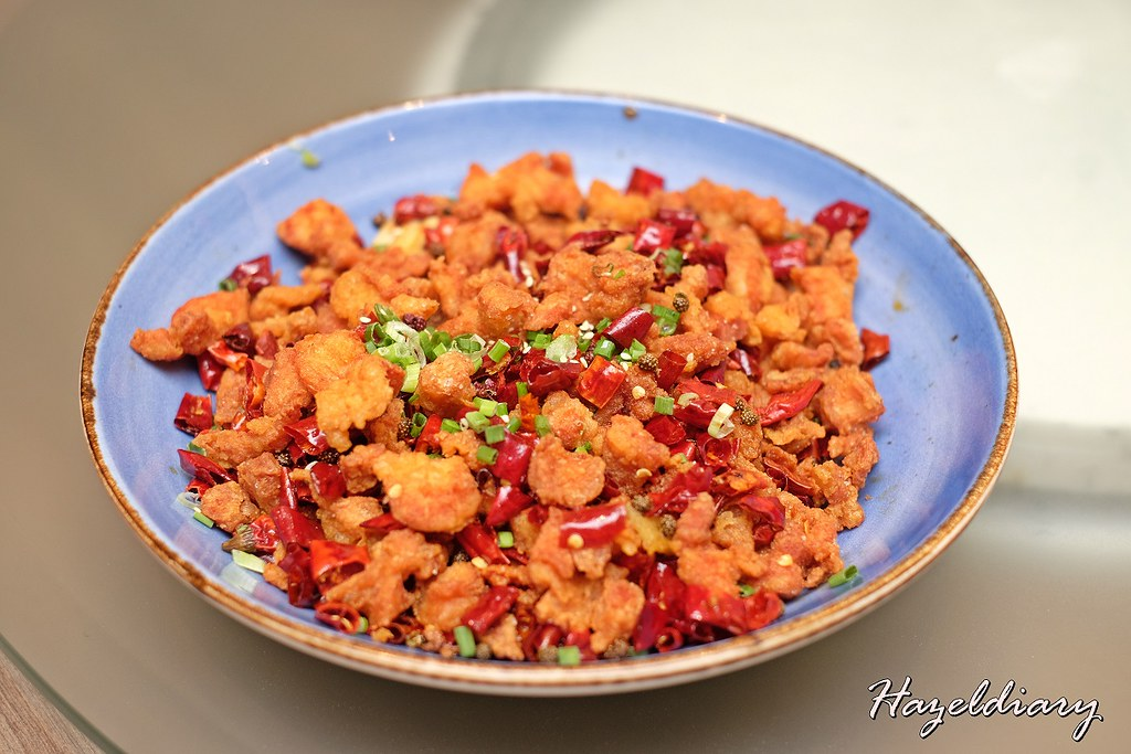 Si Chuan Dou Hua -Chong Qing Chicken with Dried Chilli