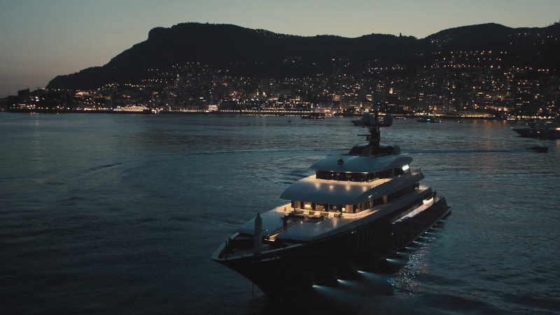 Yacht final credits scene