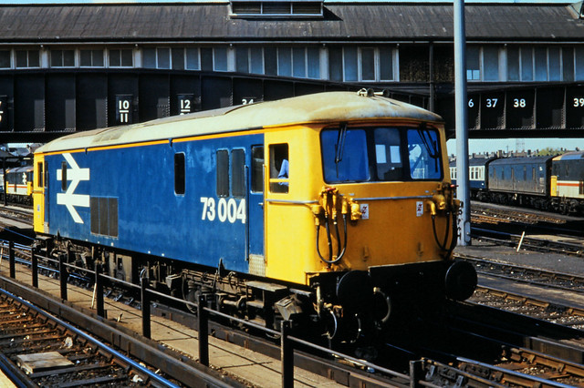 73 004, Clapham Junction, 02-05-87