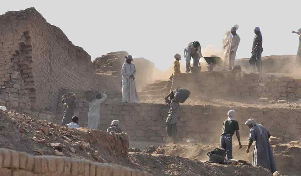 Les anciens Égyptiens ont abandonné une ville à cause d'un volcan