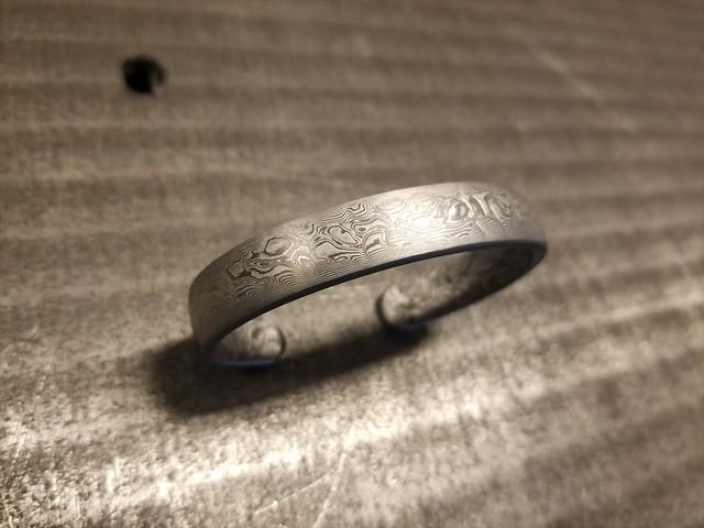 不銹積層鋼腕輪
