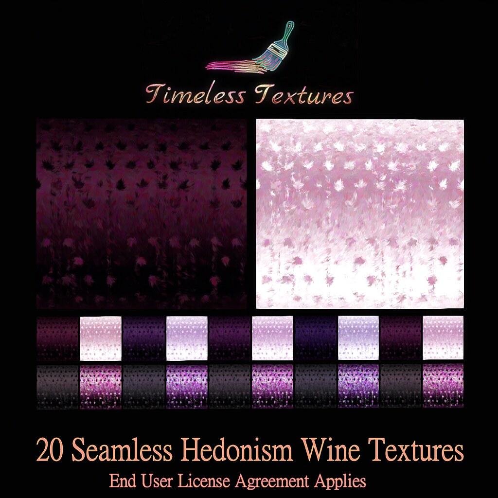 TT 20 Seamless Hedonism Wine Timeless Textures