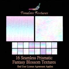 TT 16 Seamless Prismatic Fantasy Blossom Timeless Textures