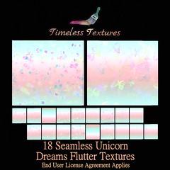TT 18 Seamless Unicorn Dreams Flutter Timeless Textures