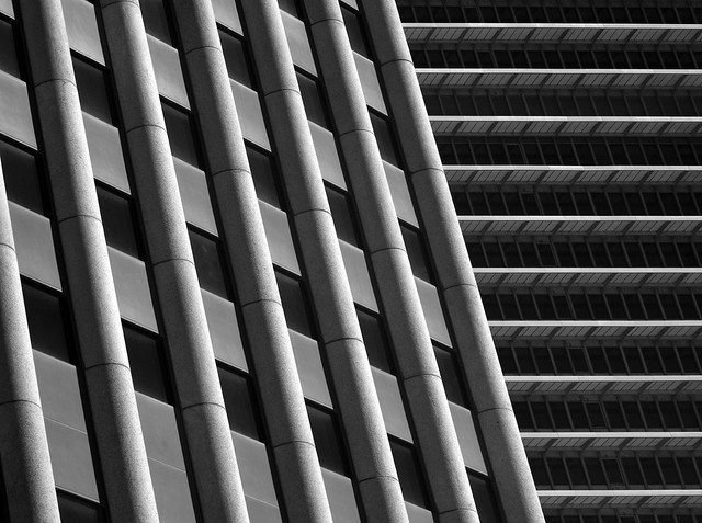 Wedge International Tower, Houston (infrared)