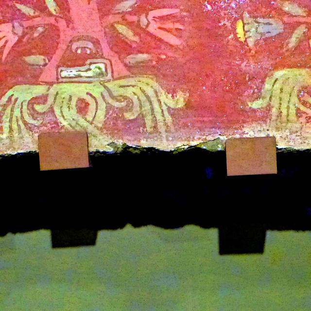 aztec teotihuacán mural detail #2