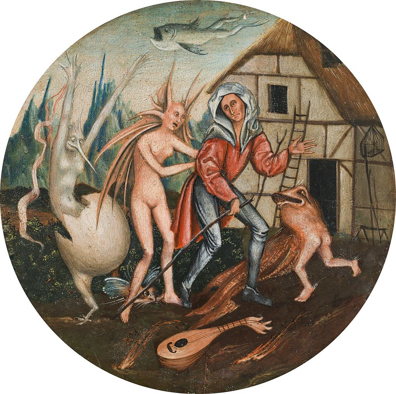 Follower of Hieronymus Bosch - The Pedlar