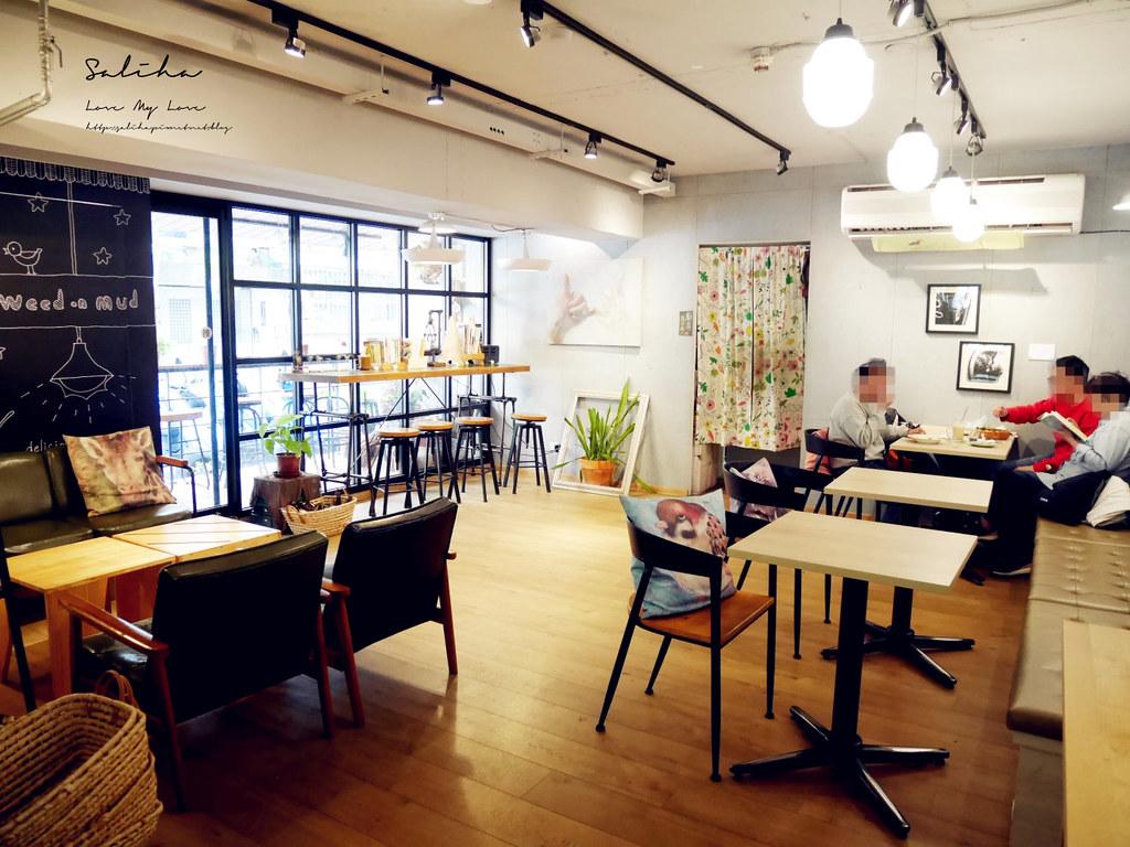 台北雜貨咖啡廳草泥Cafe浪漫咖啡廳下午茶可久坐適合閱讀看書有包廂大安區甜點 (2)