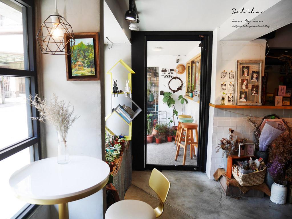 台北樂業街咖啡廳下午茶推薦草泥Cafe適合聚餐約會咖啡廳輕食義大利麵有包廂 (1)