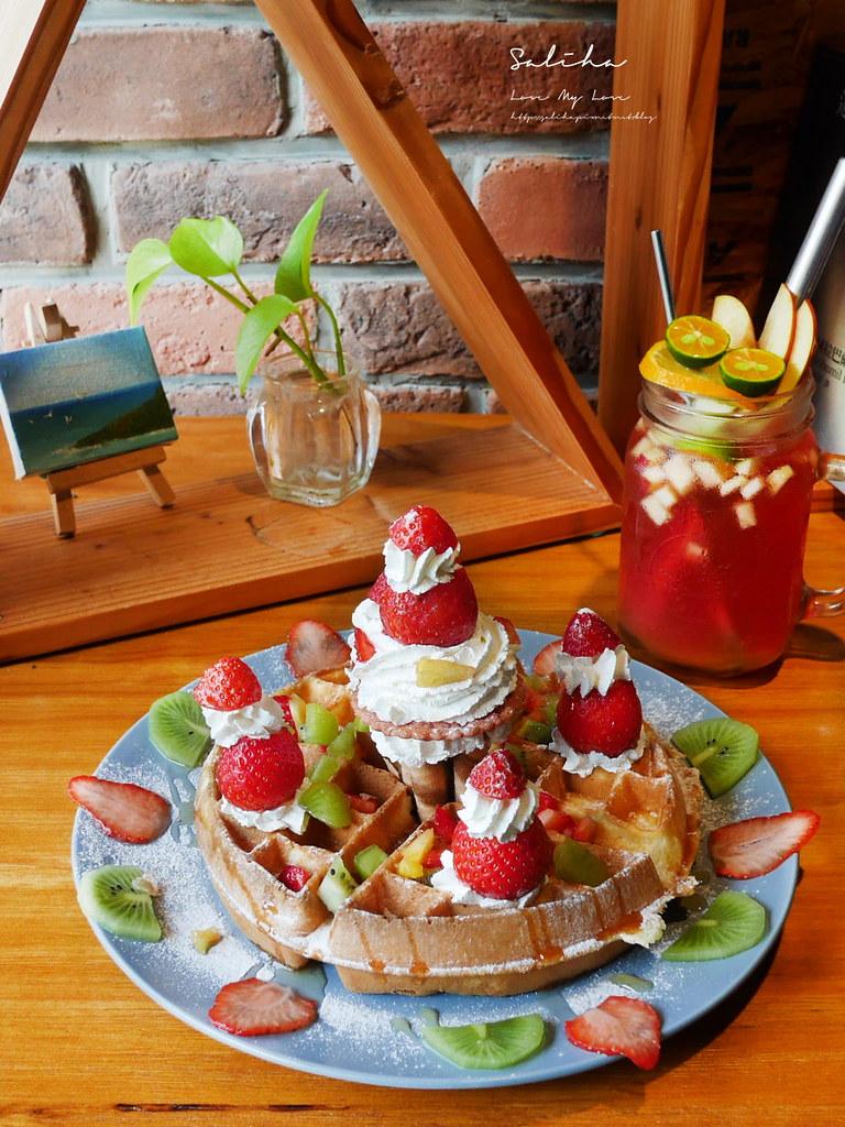 台北浪漫咖啡廳推薦草泥Cafe台北甜點推薦草莓甜點下午茶好吃美食大安區餐廳可久坐 (2)