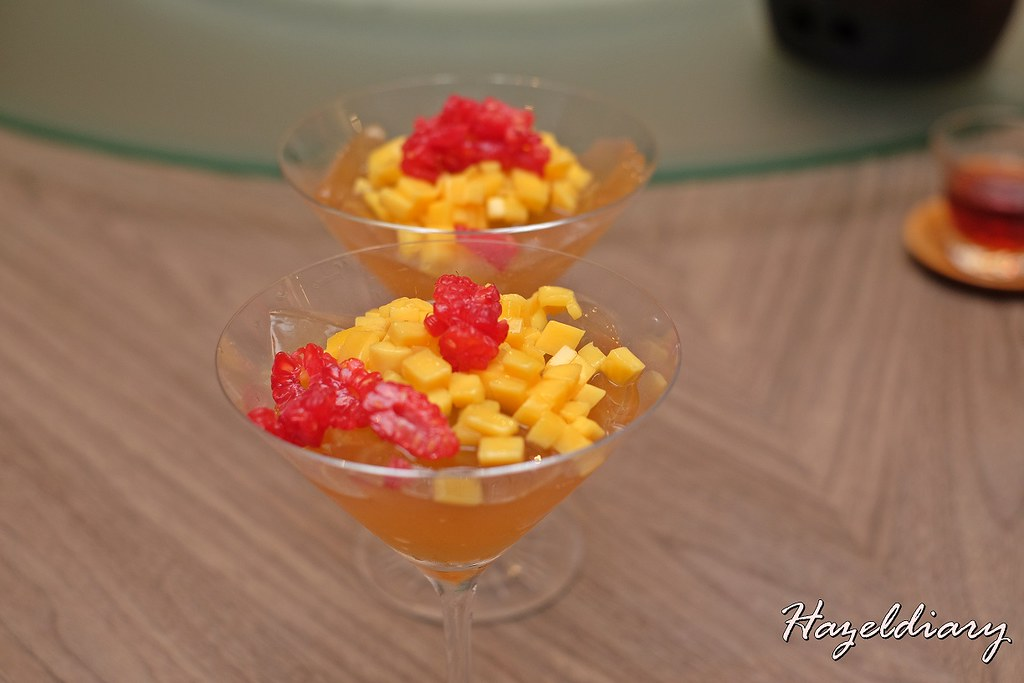 Si Chuan Dou Hua -Chilled Chrysanthemum Apple Jelly
