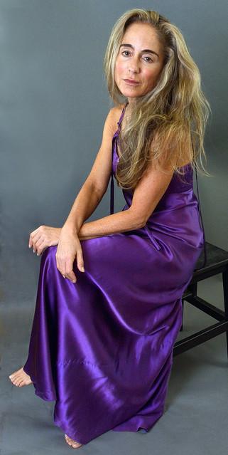 Purple satin (4)