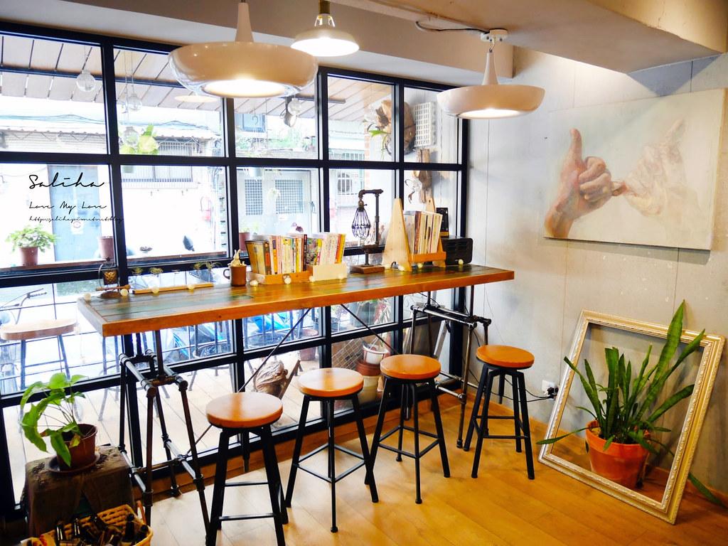 台北有包廂咖啡廳大安區有包廂餐廳草泥Cafe六張犁美食下午茶甜點鬆餅可久坐 (2)