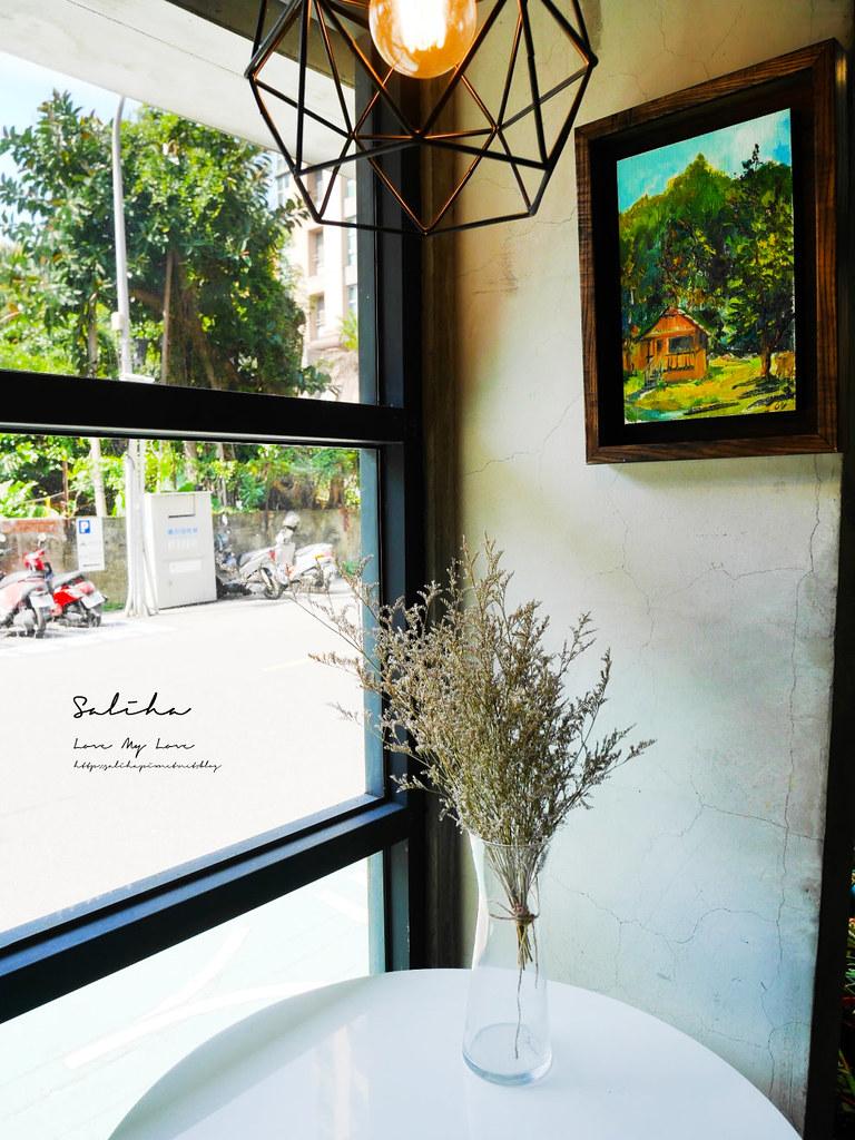 台北有包廂咖啡廳大安區有包廂餐廳草泥Cafe六張犁美食下午茶甜點鬆餅可久坐 (1)