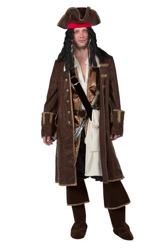 Мужской карнавальный костюм Пират Джек Воробей