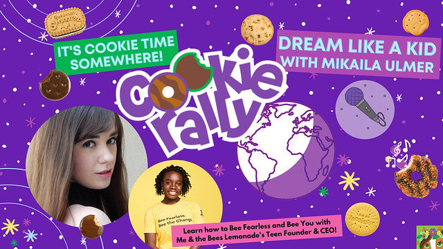 USA Girl Scouts Overseas' Cookie Rally: Kristina Lachaga chats with Me & the Bees Lemonade's Teen Founder & CEO, Mikaila Ulmer