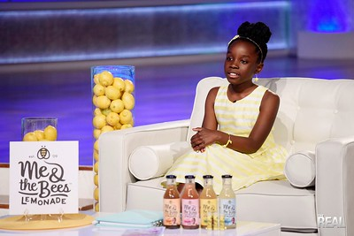 Mikaila Ulmer on the set of The Real!