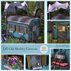 DD Old Shabby Caravan AD