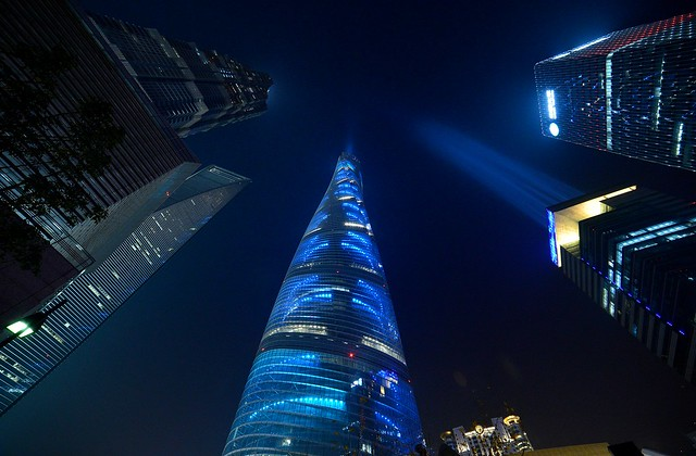 Shanghai - Shanghai Tower Blue