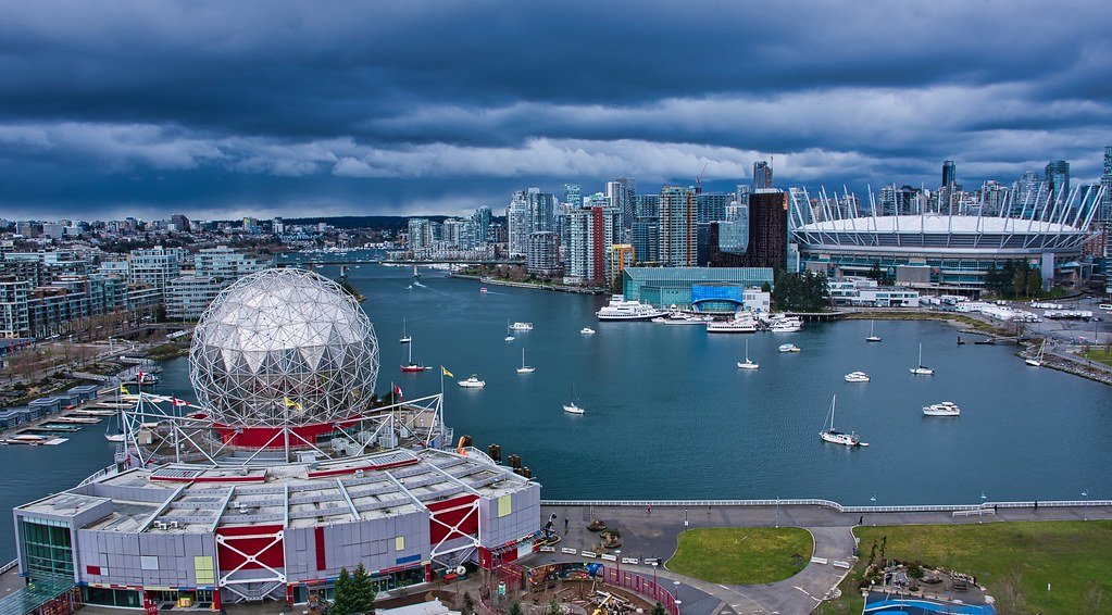 2021 - Vancouver -  The Colour of East False Creek Water