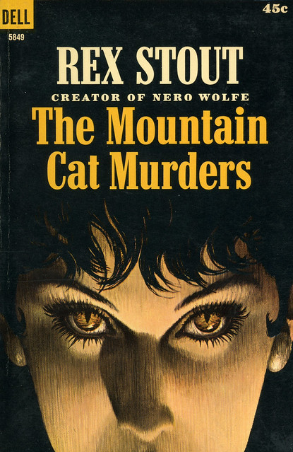 Dell Books 5849 - Rex Stout - The Mountain Cat Murders