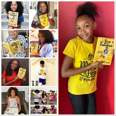 Fans loving Mikaila Ulmer's book Bee Fearless!