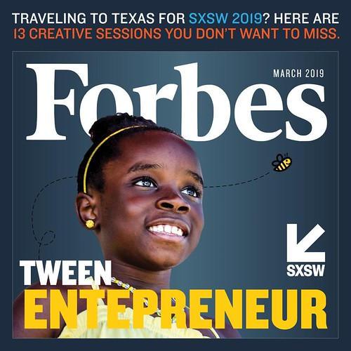 Mikaila Ulmer on the cover of Forbes!