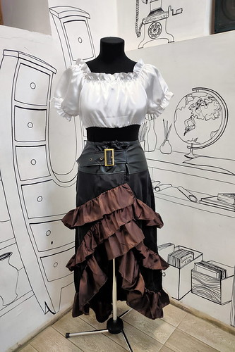 Женский карнавальный костюм Комплект в пиратском стиле