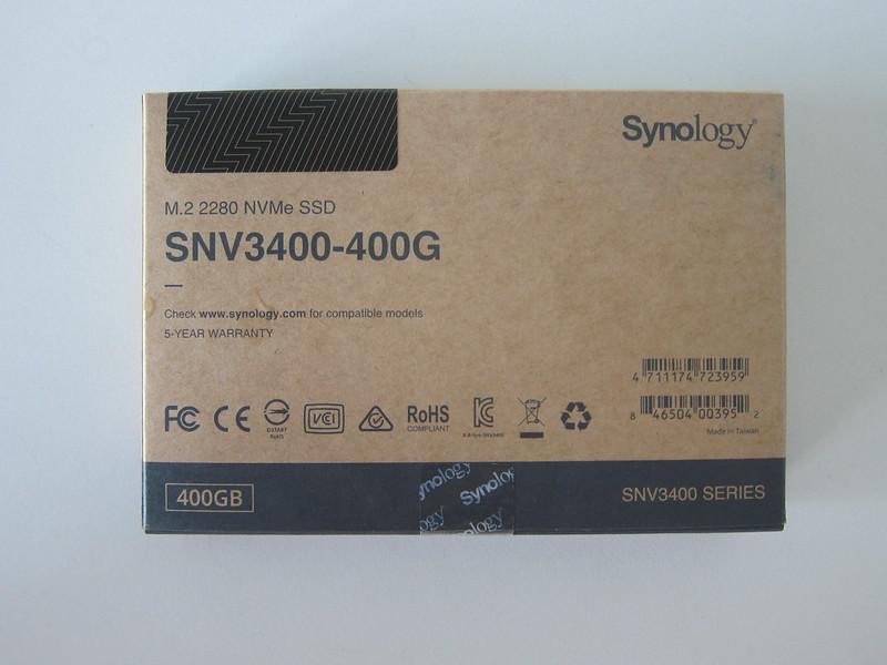Synology SNV3400-400G - Box Back