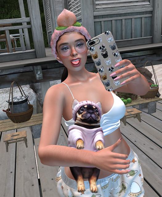 Morning Selfie • Baluuuuuut Beachy!!!! 🐶
