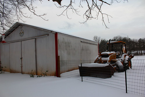 tx texas snow outbuilding