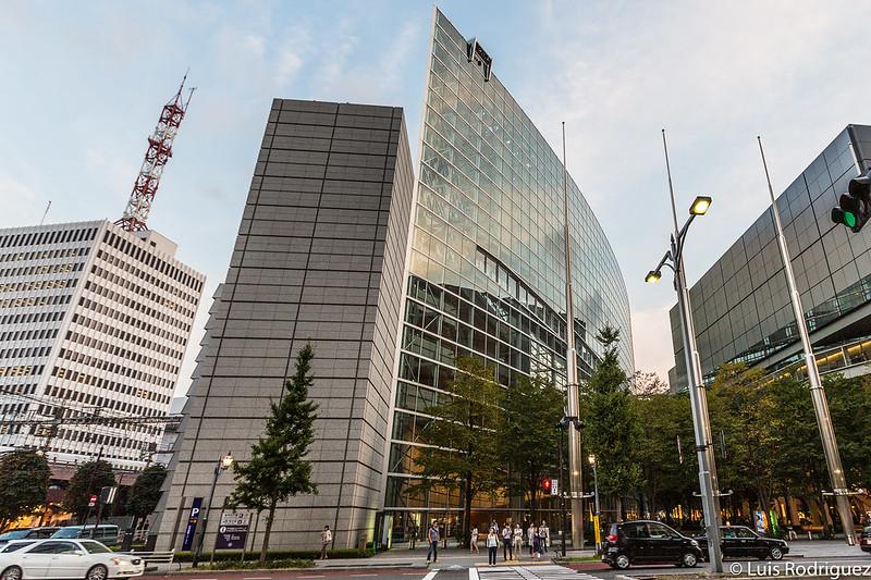 Exterior del Tokyo International Forum