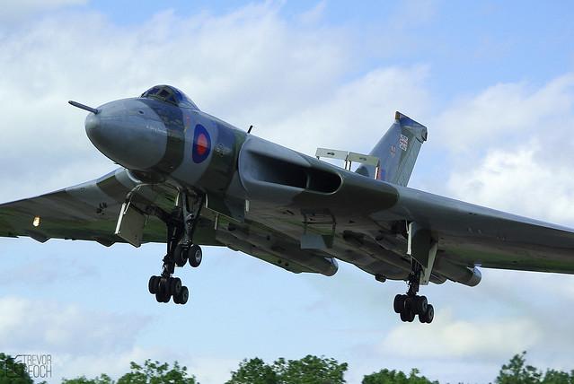 XH558, Vulcan Inbound