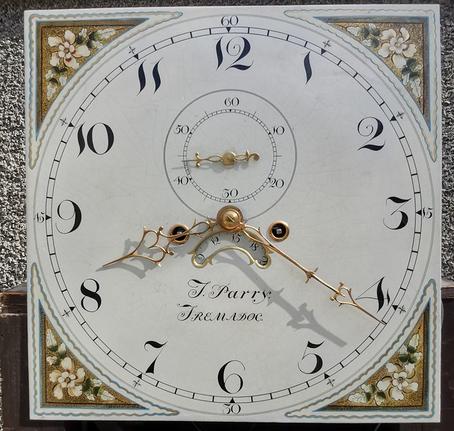 Clock face of my recent John Parry clock purchase