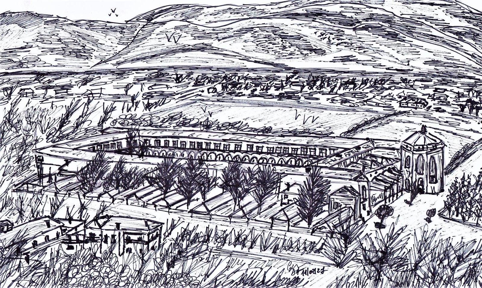 Panorama su Certosa