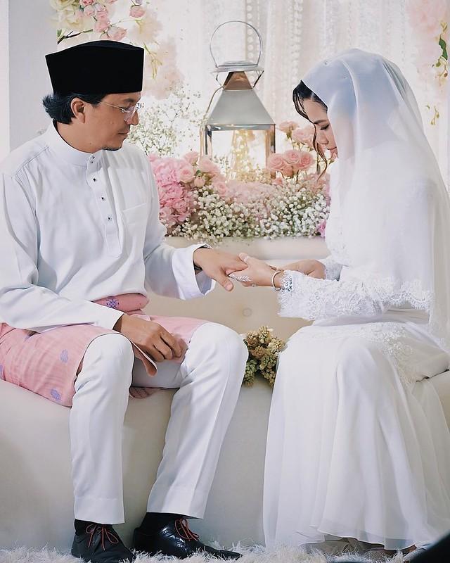Engku Emran & Noor Nabila Sah Bernikah