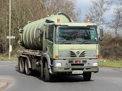 quicksilver coaches posted a photo:	S685 ASX1998 Foden Alpha 3000 380Cammack & Wilcox Ltd, Wollaston, NorthamptonshireBuckingham, 12 March 2021New to Gordons, Bonnybridge as a 4x2 tractor unit