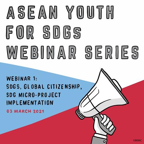 ASEAN Youth for SDGs Webinar 1
