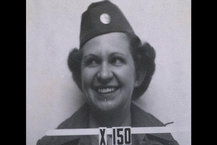 Miriam White Campbell's badge photo