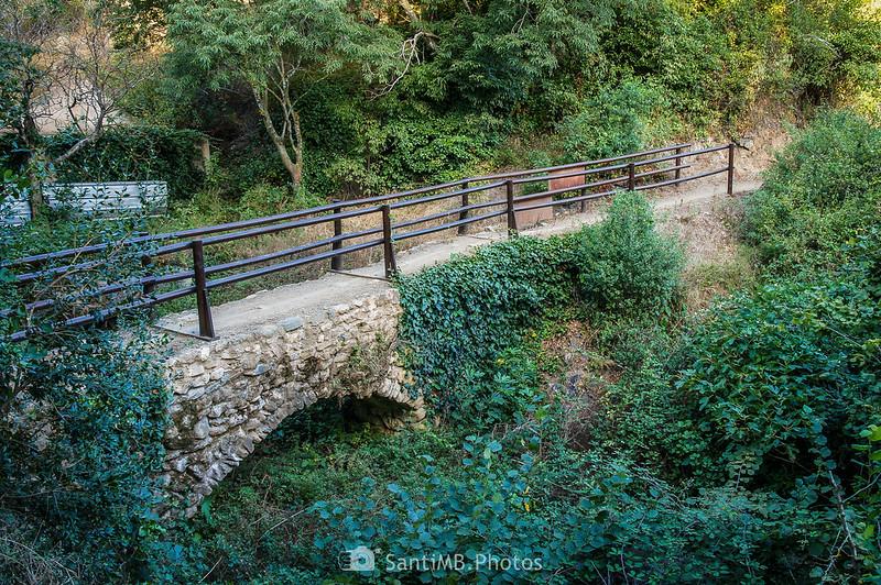 Puente medieval en el Camí del Rec