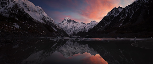 Mt Cook Sunrise