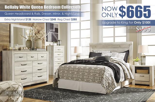 Bellaby Queen Bedroom Set_B331-31-36-46-57-91-Q323-ALT_Update