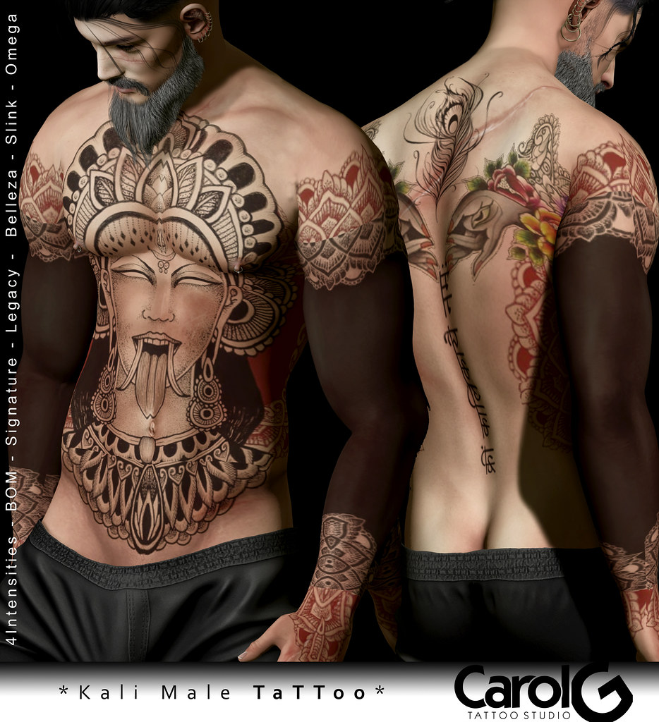 Kali Male TaTToo [CAROL G]
