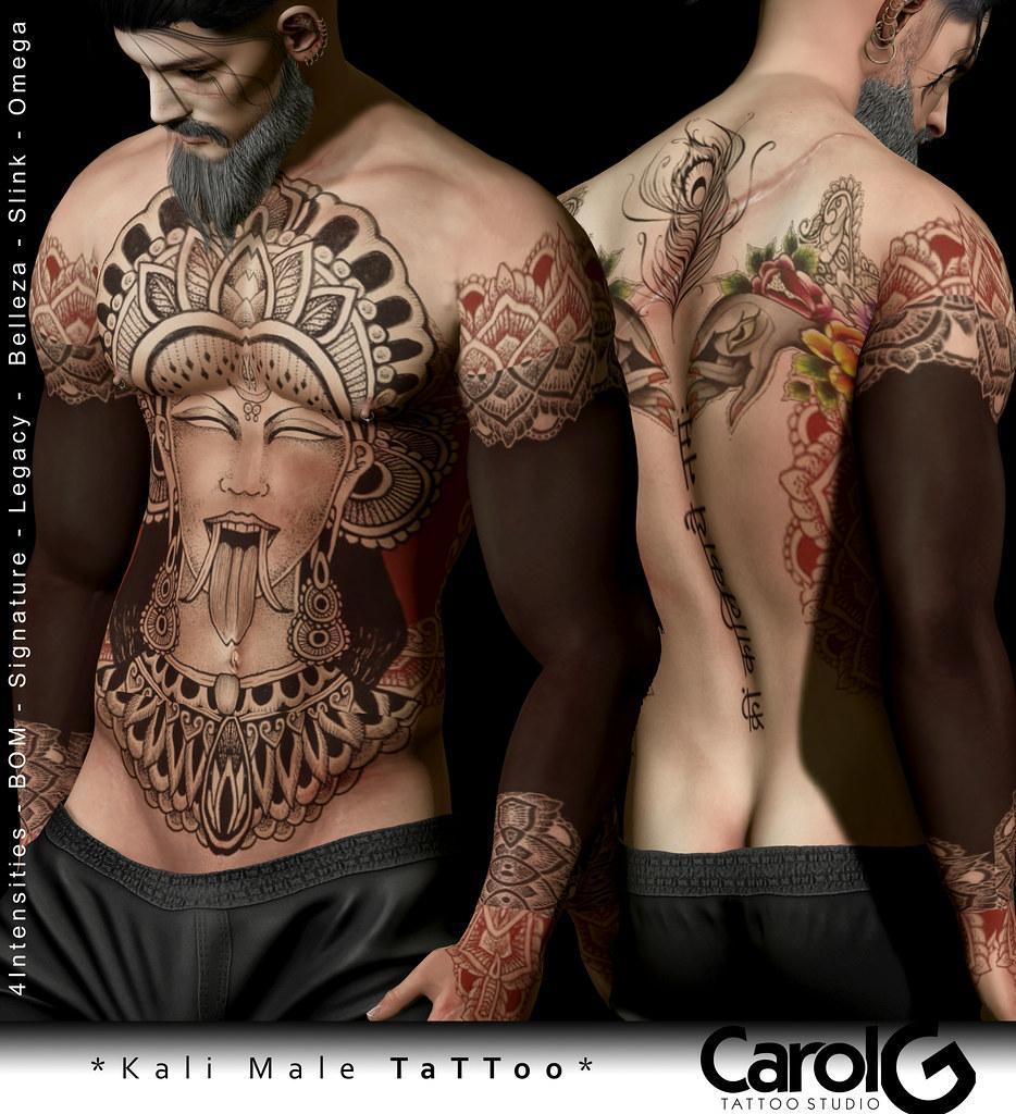 Kali Male TaTToo [CAROL G]