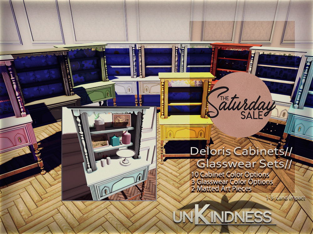 uK – Deloris Cabinets – TSS