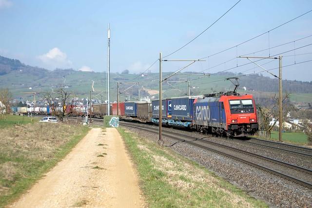 SBB Cargo 484 016 Frick