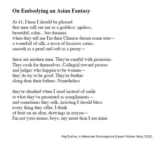 On Embodying an Asian Fantasy