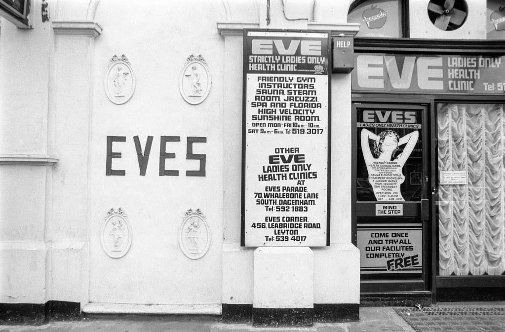 Eves, Leytonstone Rd, Maryland, Newham, 1989 89-9a-54