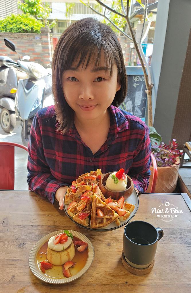 Roundabout Cafe 圓環咖啡台中草莓布丁20