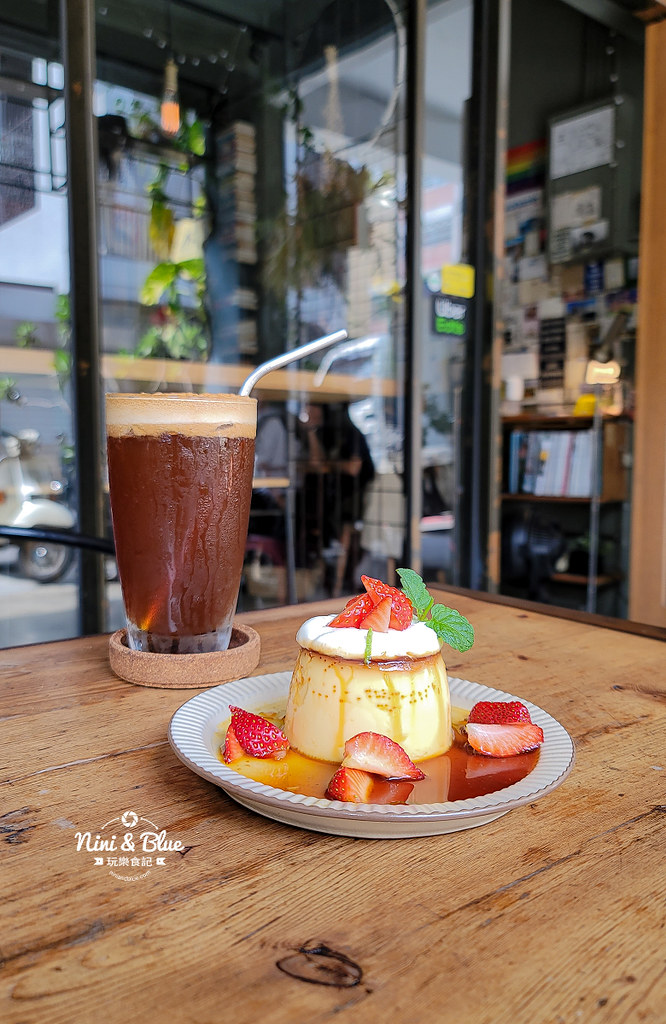 Roundabout Cafe 圓環咖啡台中草莓布丁17